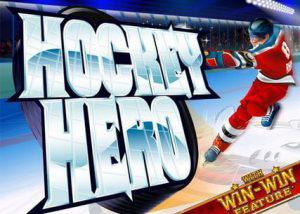 Picture showing Hockey Hero a Winter Themed Online Slots