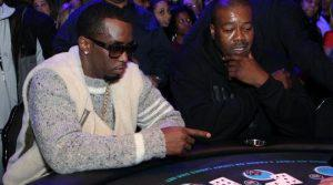 Picture of sean combs gambling